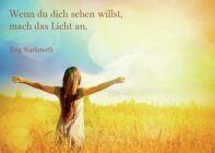 """Postkarte """"Licht"""""""